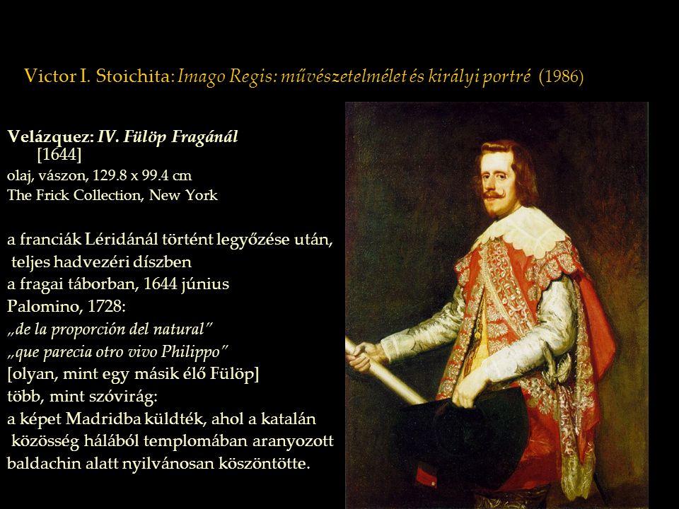 Velázquez: IV. Fülöp Fragánál [1644]